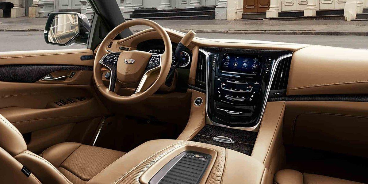 La Cadillac Escalade es muy espaciosa