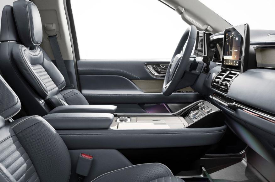 La Lincoln Navigator Reserve Larga tiene un interior lujoso