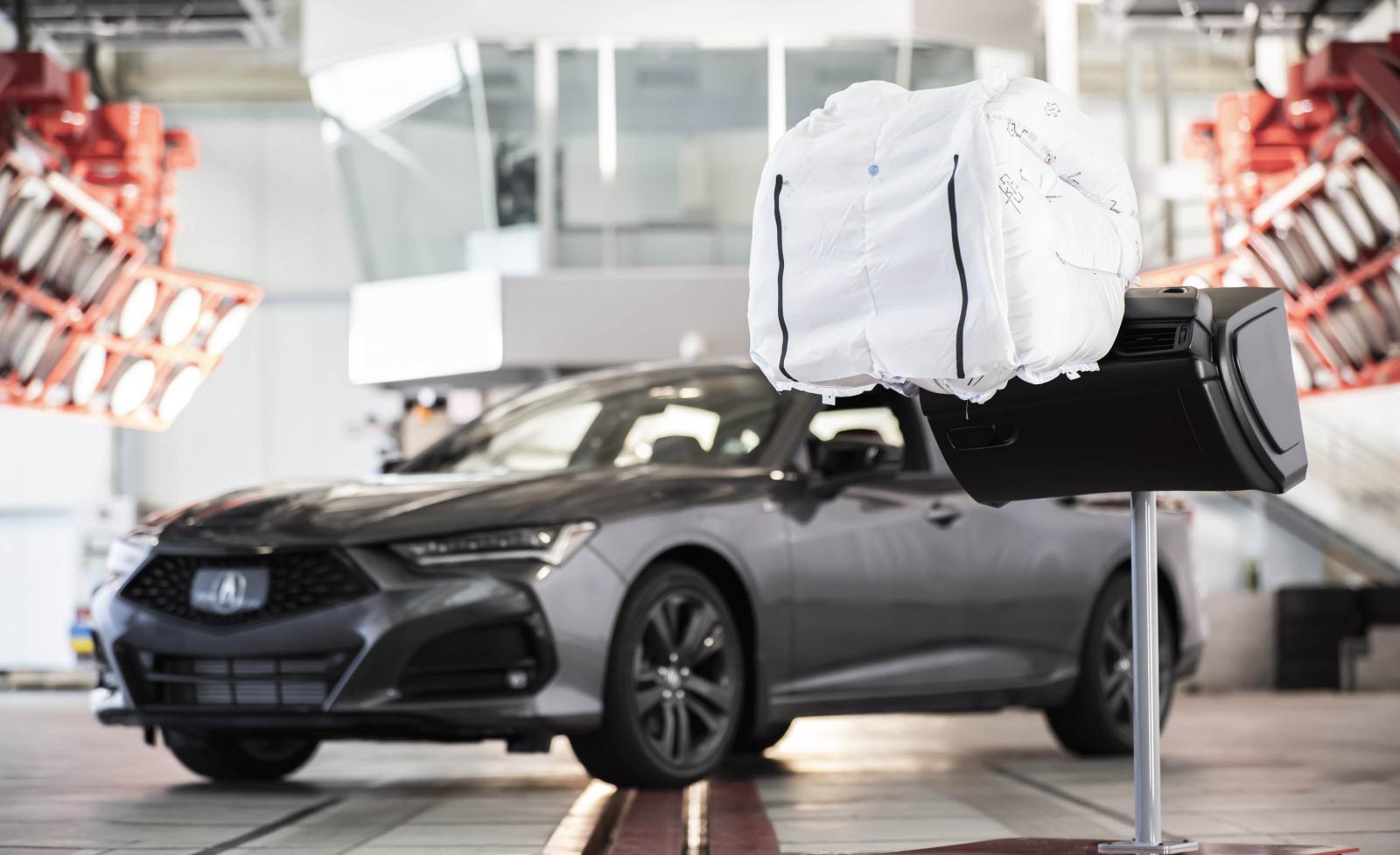 La nueva tecnología de bolsas de aire estará en el Acura TLX