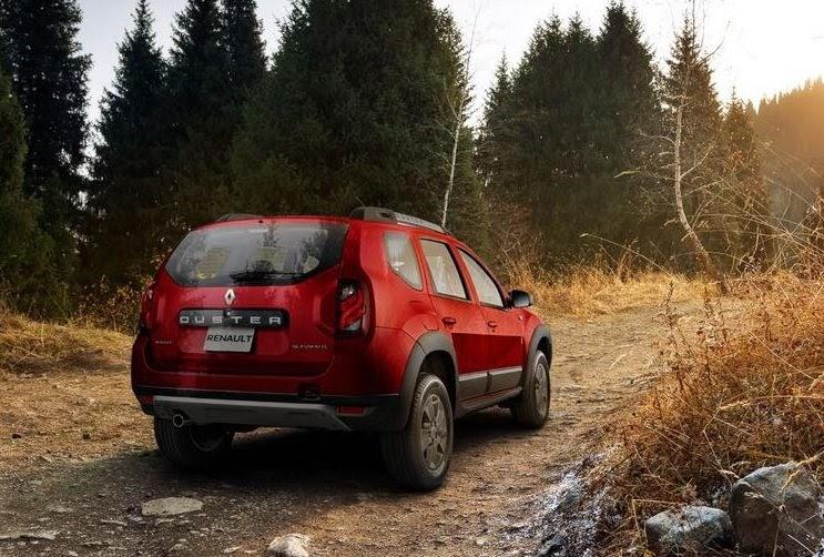 Renault Duster rojo