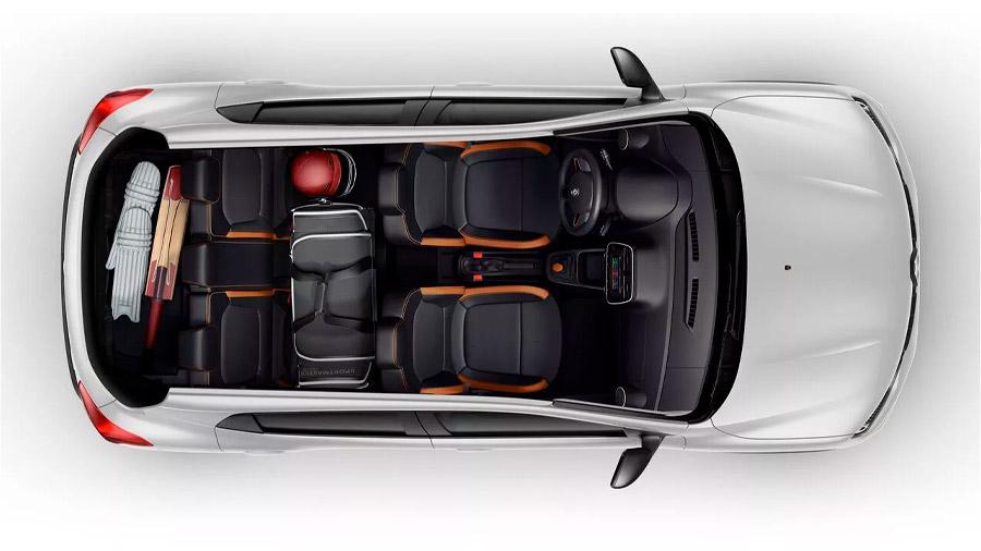 El interior Renault Kwid precio mexico tiene capacidad para 5 pasajeros