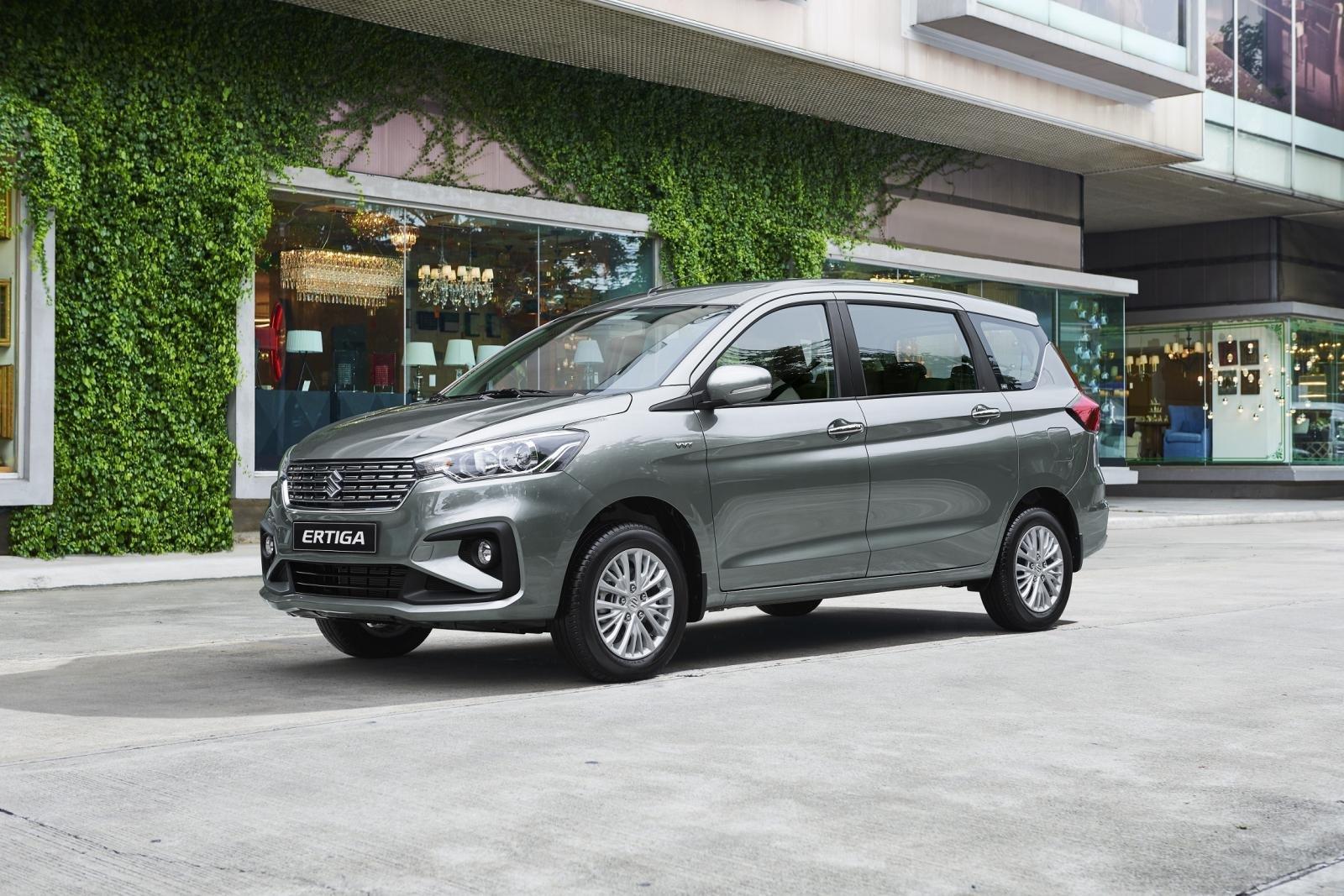La Suzuki Ertiga puede llevar hasta siete pasajeros