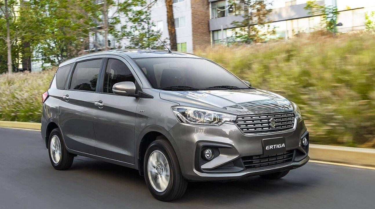 La Suzuki Ertiga ofrece motor de 1.5 litros