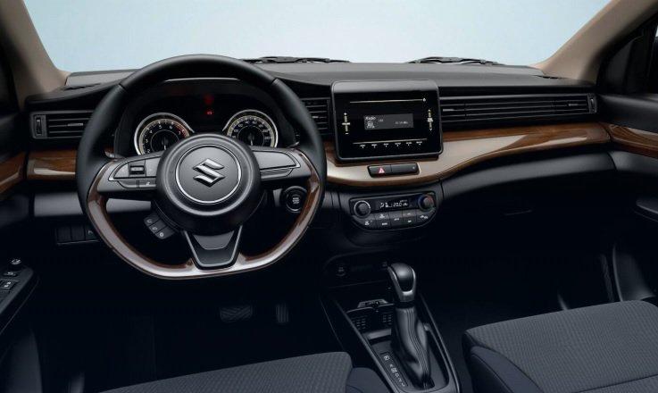 La Suzuki Ertiga tiene un interior sencillo