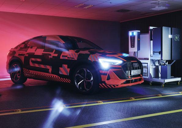 Audi trabaja en tecnología de carga bidireccional para ahorrar dinero y energía