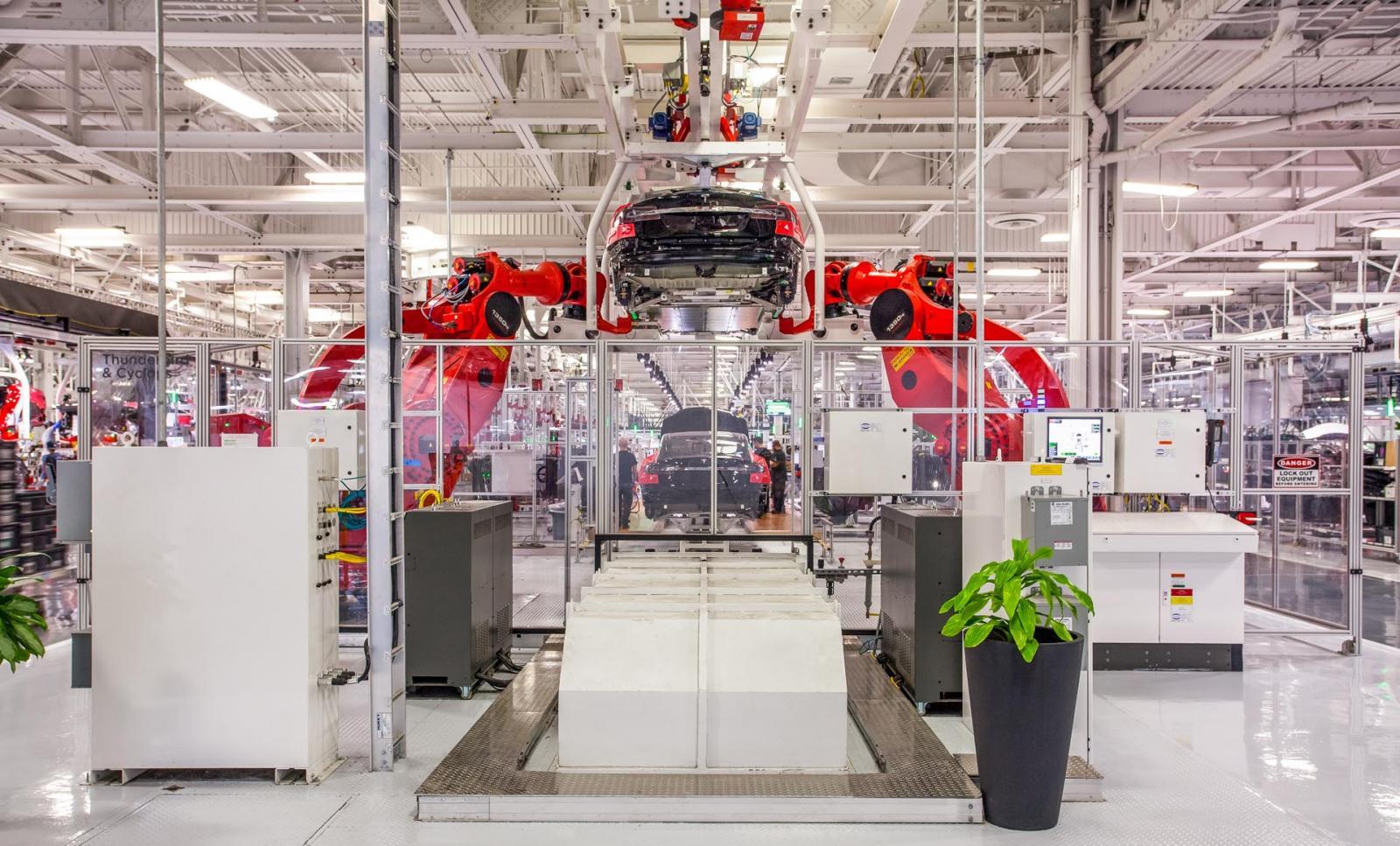 El Tesla Model 3 será de los modelos que se produzcan en el nuevo complejo