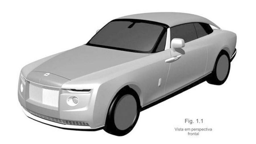 La patente podría anticipar el lanzamiento de un nuevo coupé de la marca