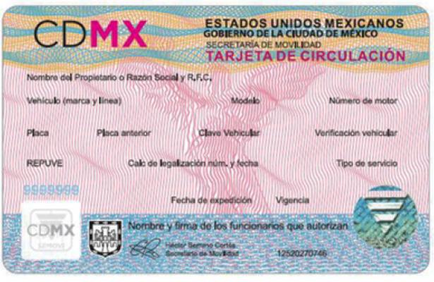 Cómo hacer el cambio de tarjeta de circulación