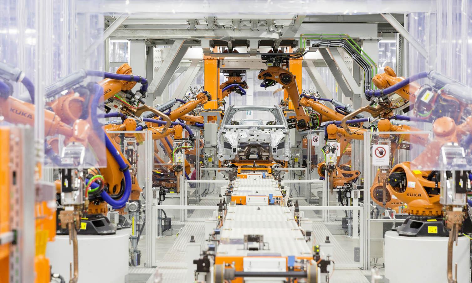 La planta de Audi México se adaptó a las novedades de producción