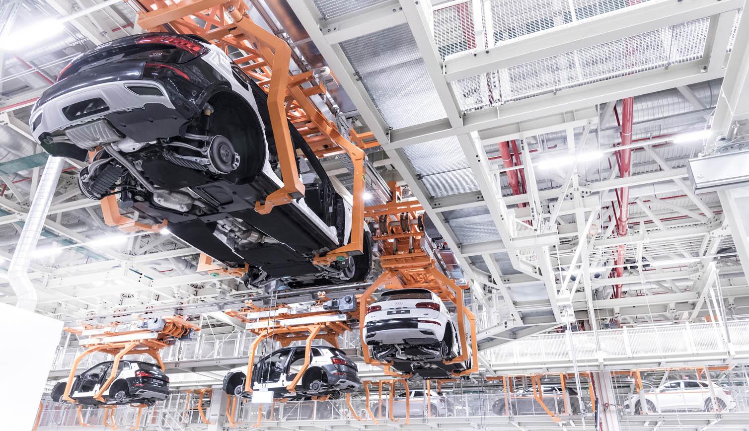 Las instalaciones de Audi México tuvieron reformas