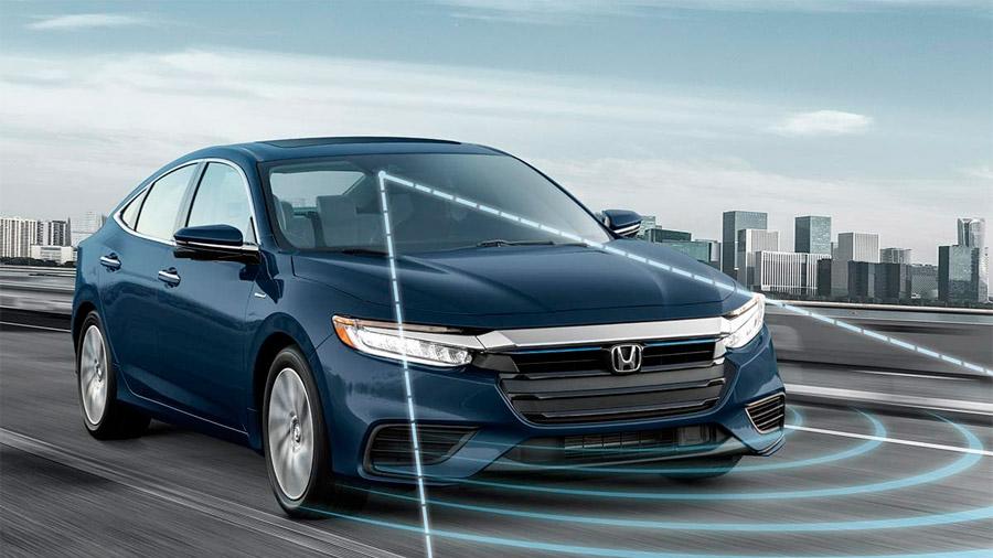 El paquete de seguridad del Honda Insight luce muy completo