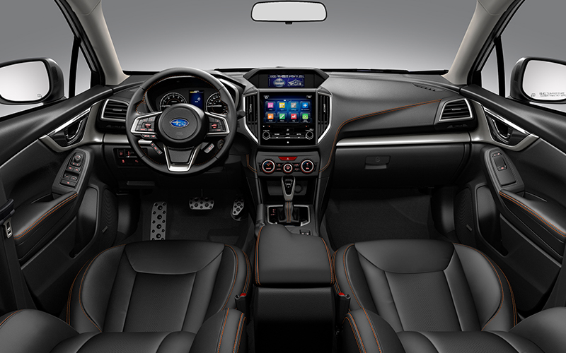 La Subaru XV tiene buenos detalles al interior