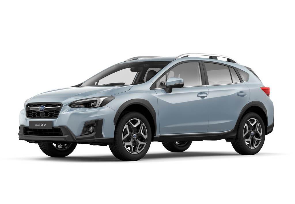 La Subaru XV tiene muchas opciones de color