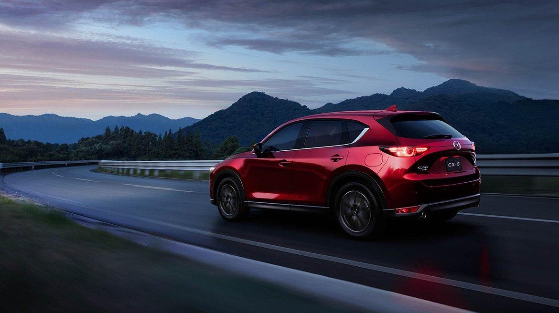 La Mazda CX-5 es una de las SUV populares de la marca