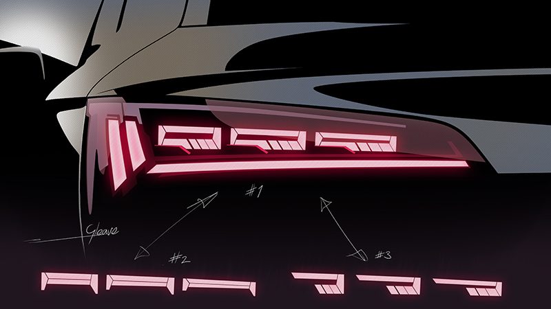 Audi Q5 iluminacion trasera