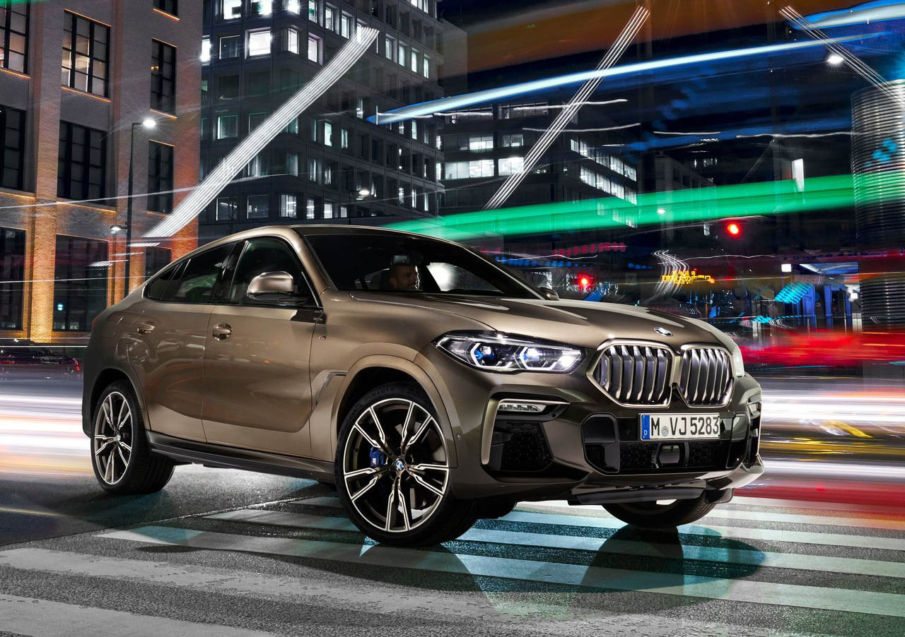 La BMW X6 M50i tiene buen equipamiento de seguridad
