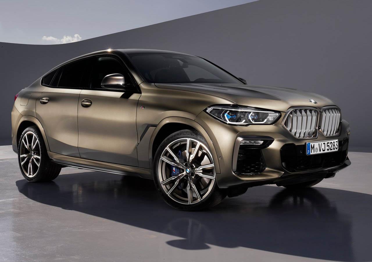 La BMW X6 M50i tiene una conducción emocionante