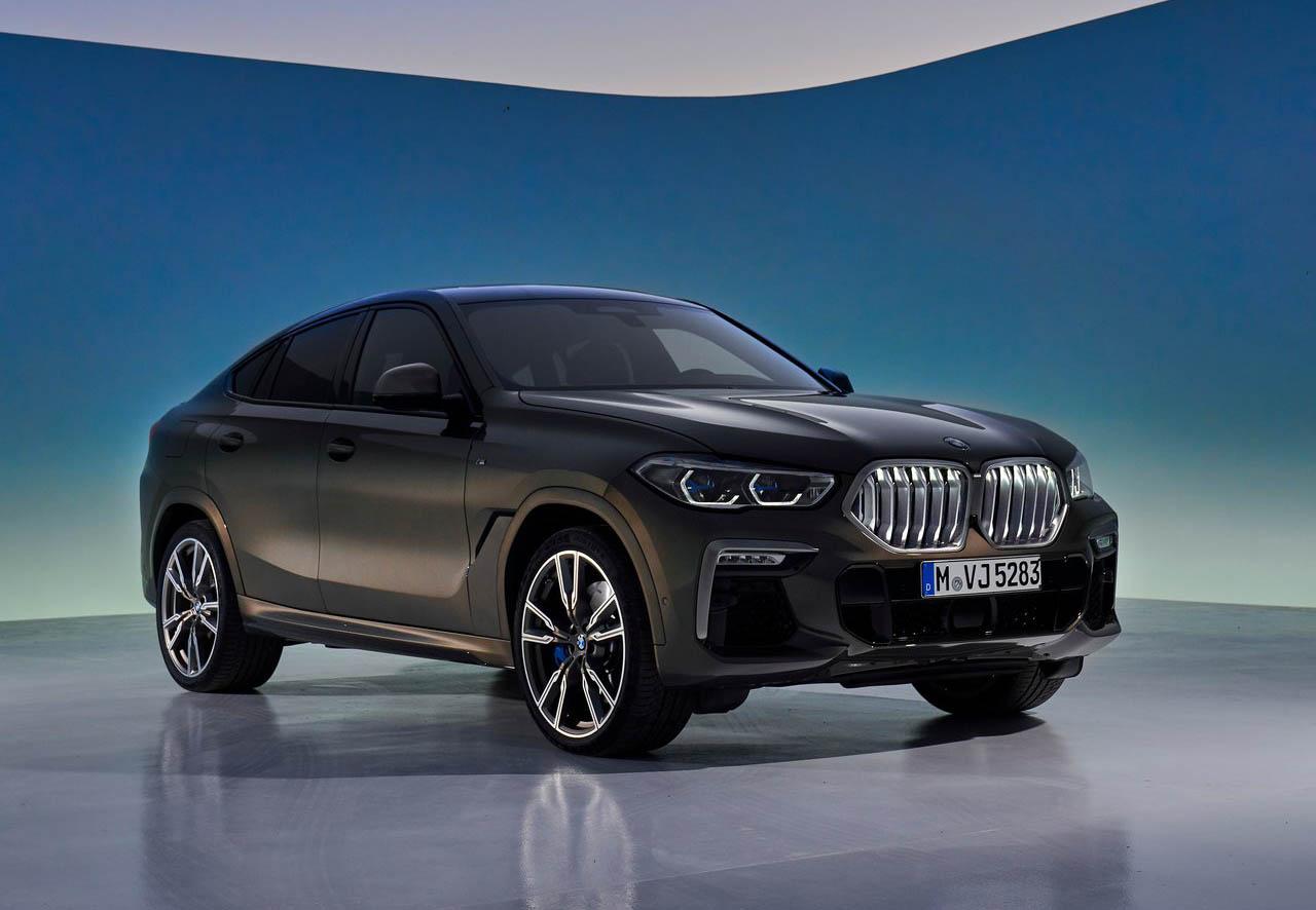 La BMW X6 es una SUV llamativa