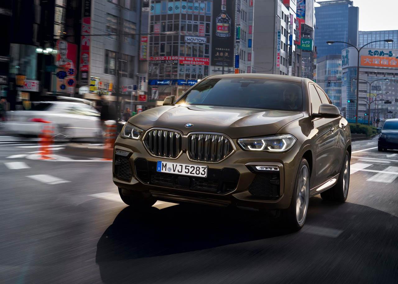 La BMW X6 M50i tiene buenas asistencias a la conducción