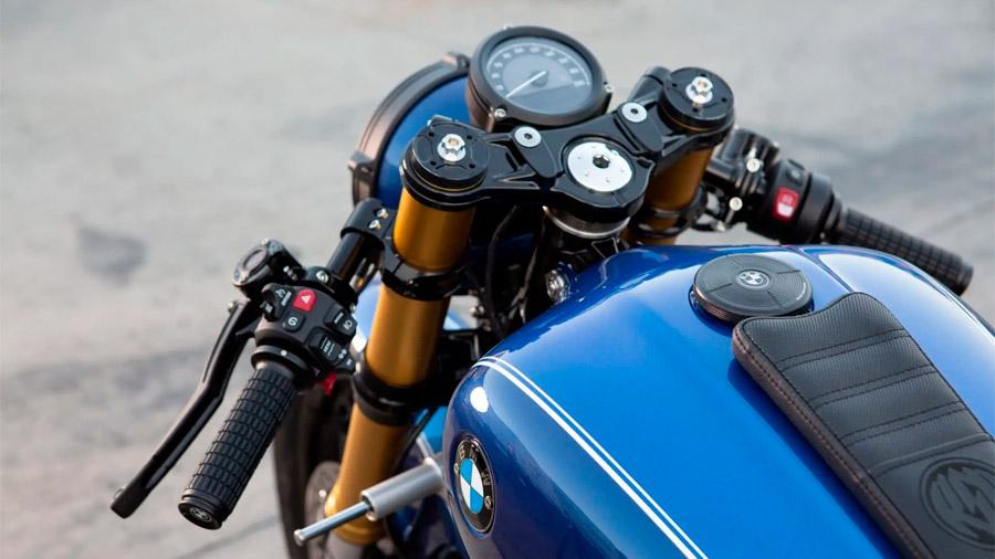 Roland Sands destacó las múltiples modificaciones artesanales realizadas sobre el modelo original
