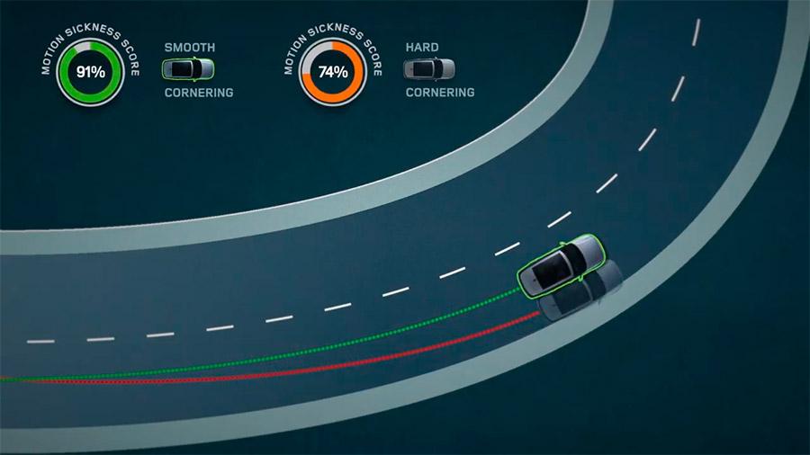 La tecnología optimizaría la frenada, la aceleración y los cambios de carril