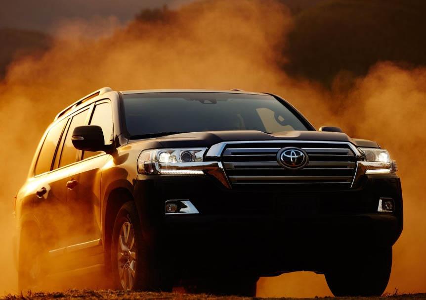 La Toyota Land Cruiser tiene capacidades todoterreno