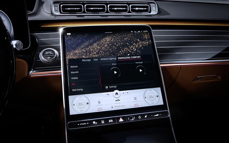 Mercedes-Benz Clase S pantalla