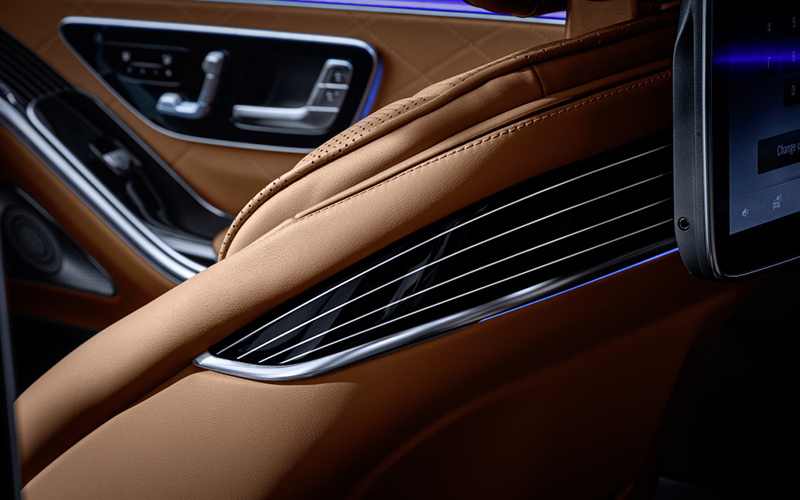 Mercedes-Benz Clase S nuevo interior