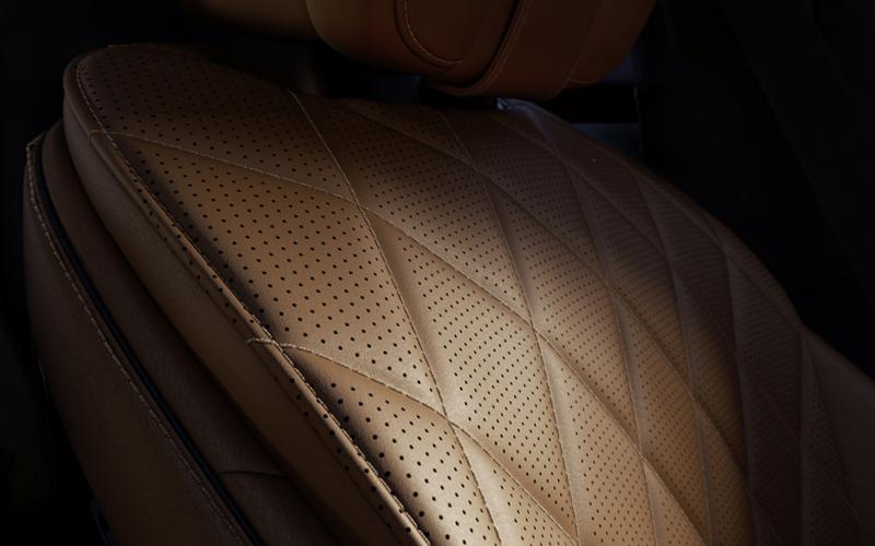 Tapicería nuevo Mercedes-Benz Clase S
