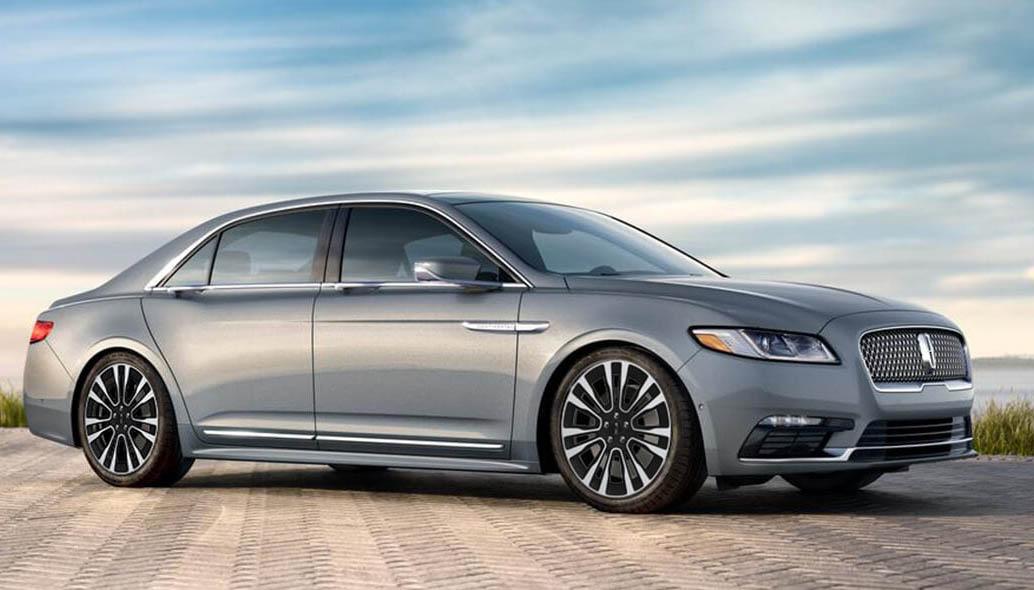 El Lincoln Continental precio mexico tiene un diseño elegante