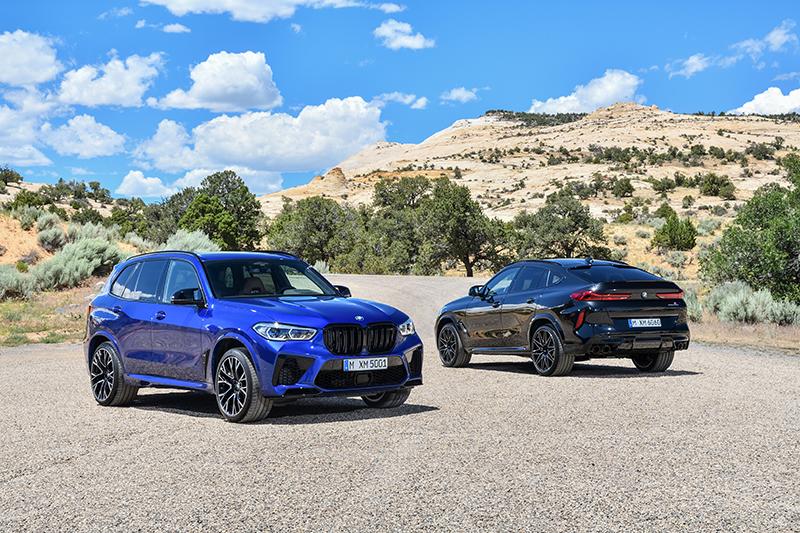 Las BMW X5 M Competition y X6 M Competition