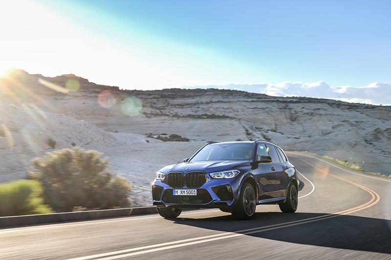 La BMW X5 M Competition