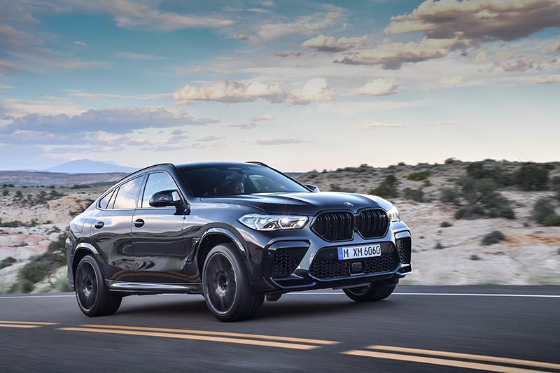 La BMW X6 M Competition