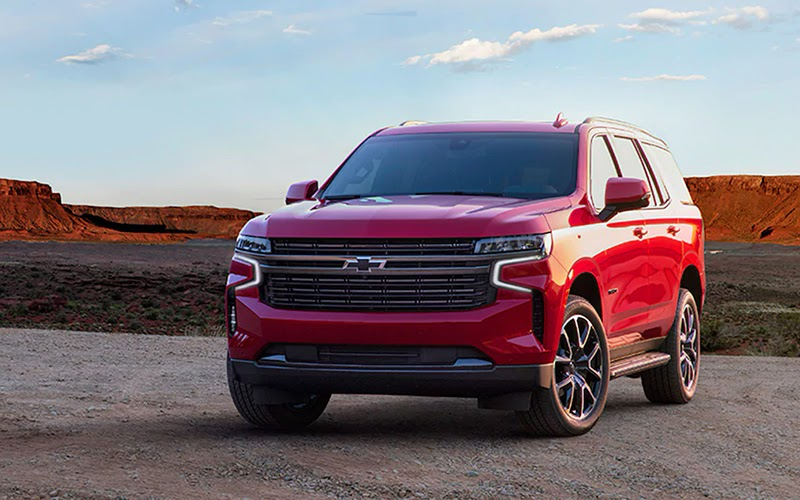 Chevrolet Tahoe rojo