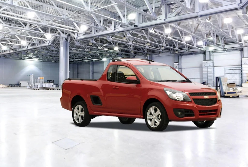 Chevrolet Tornado rojo