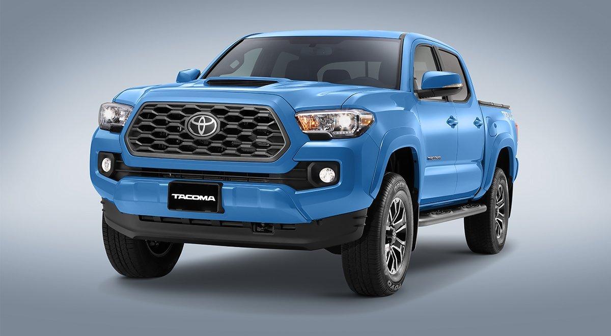 Toyota Tacoma azul