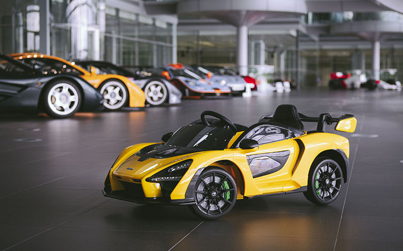 El McLaren Senna Ride-On