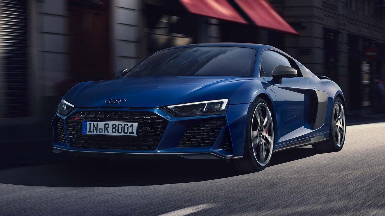 Audi R8 precios azul