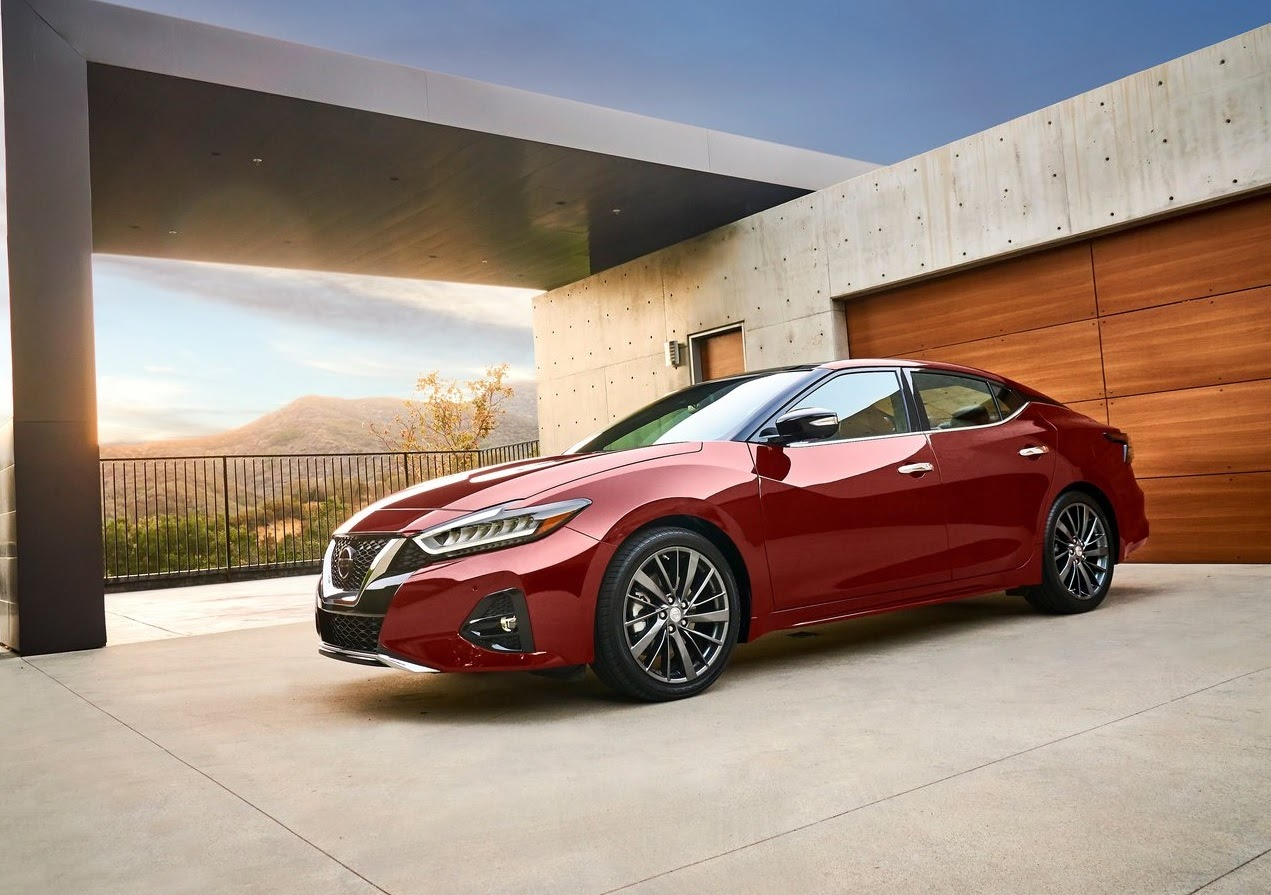 Nissan Maxima precios rojo