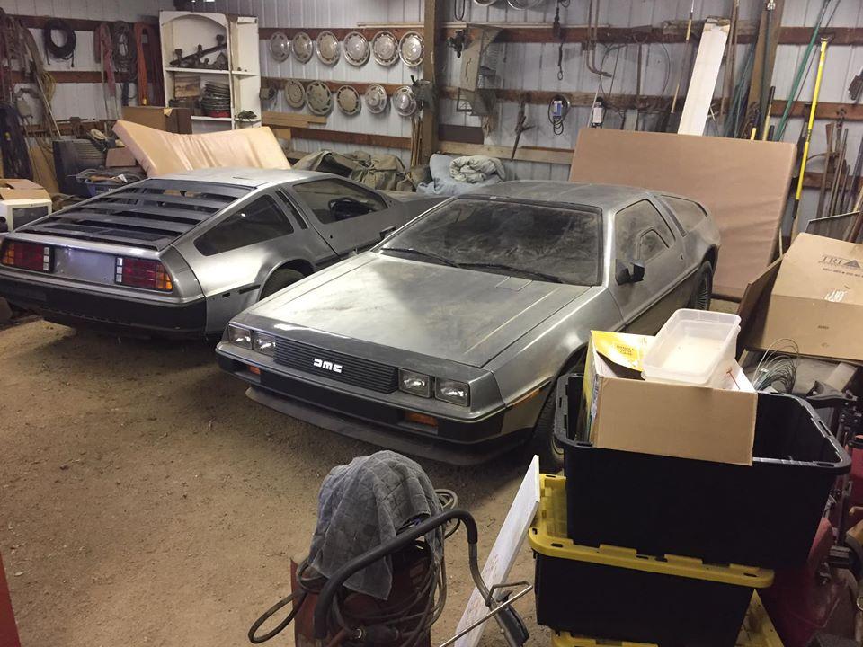 Encuentran dos DeLorean abandonados desde hace 40 años