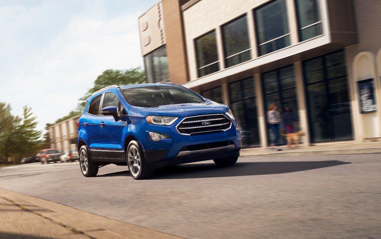 La Ford EcoSport es una SUV con líneas dinámicas
