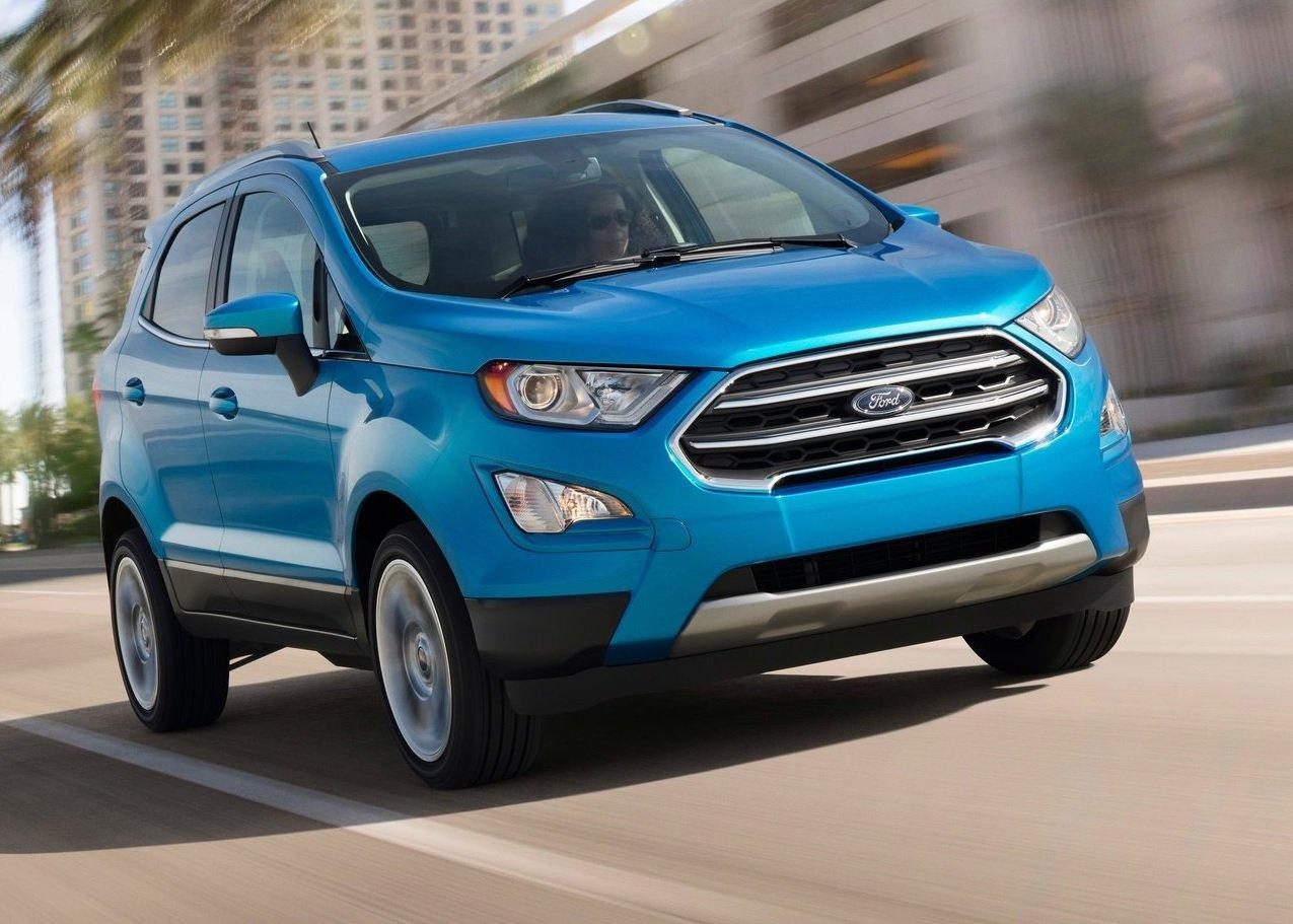 La Ford EcoSport tiene motor cuatro cilindros