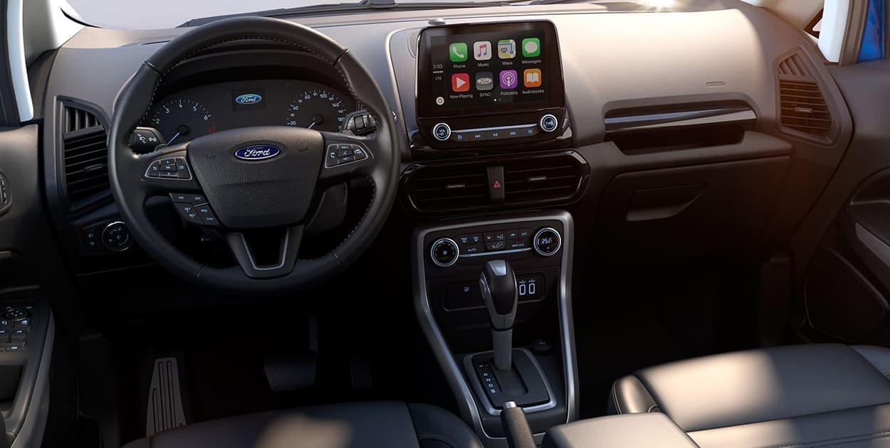 La Ford EcoSport tiene un interior con mucho estilo