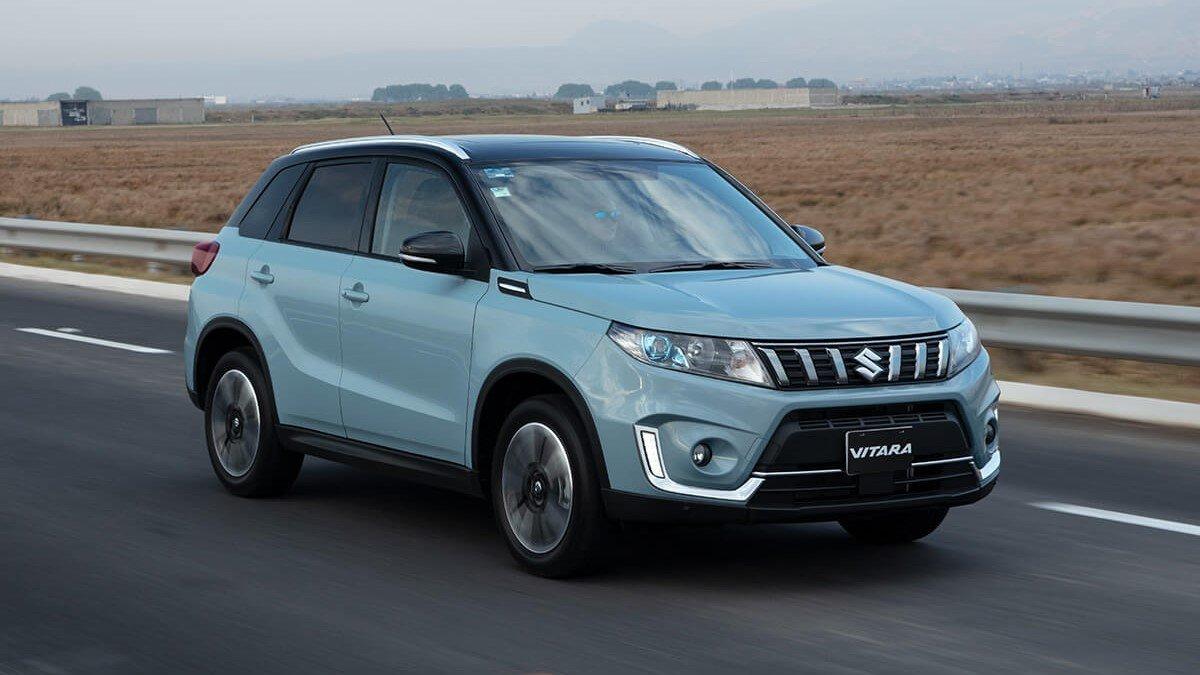La Suzuki Vitara tiene motor cuatro cilindros