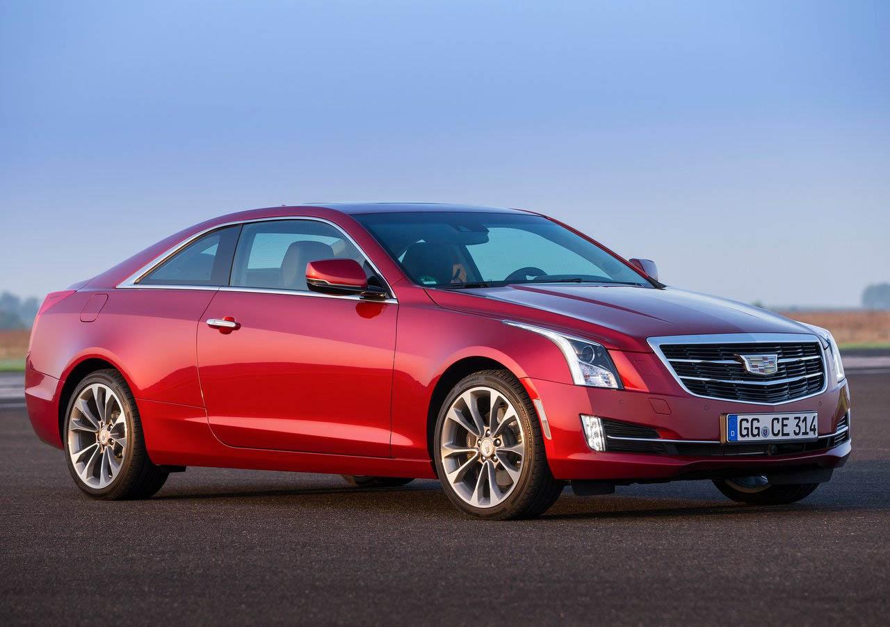 El Cadillac ATS Coupé tiene un diseño alargado