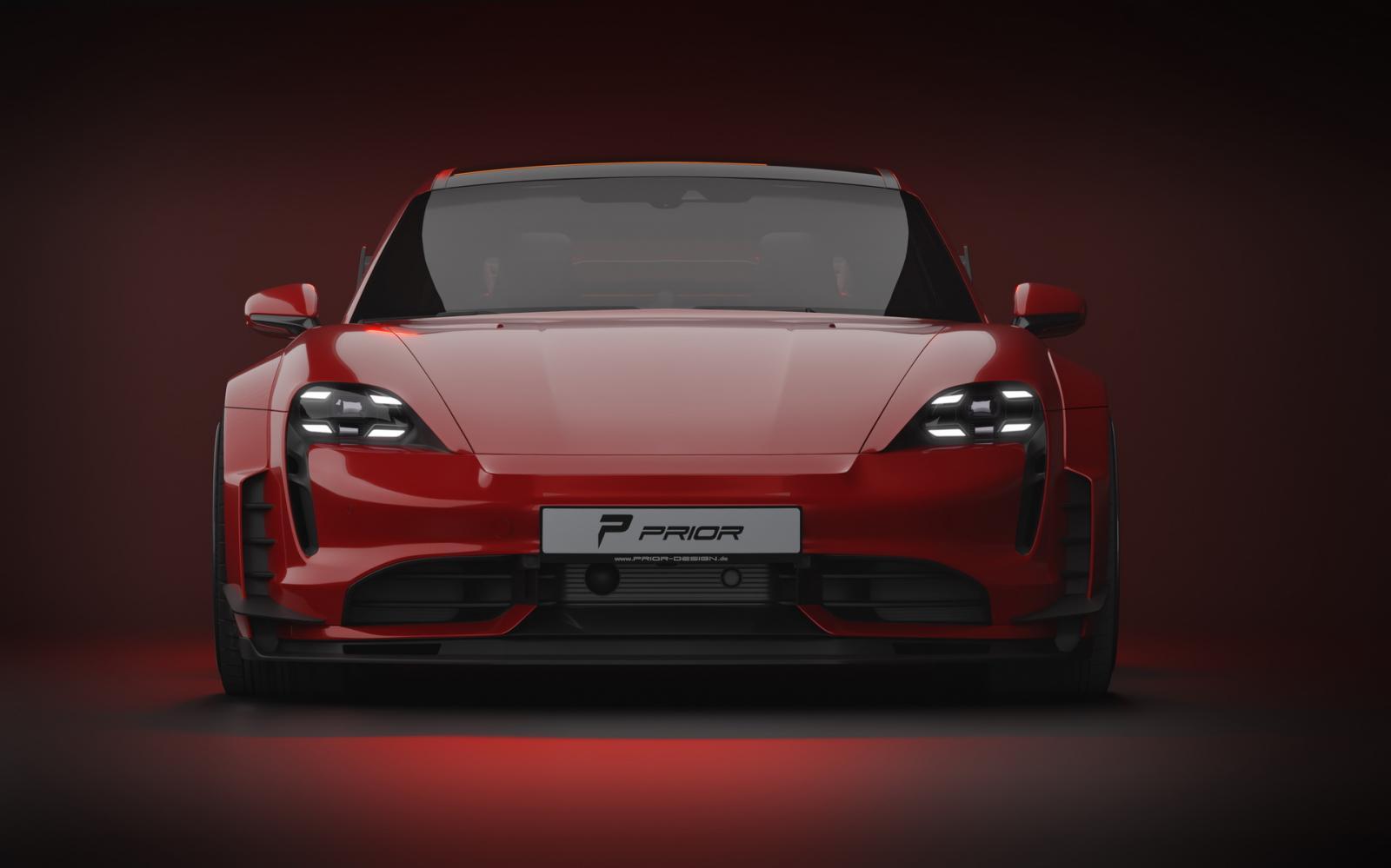 Porsche Taycan Turbo S kit de carrocería