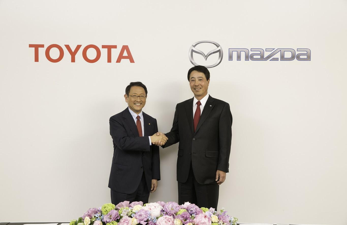 Toyota y Mazda tienen muy buena relación
