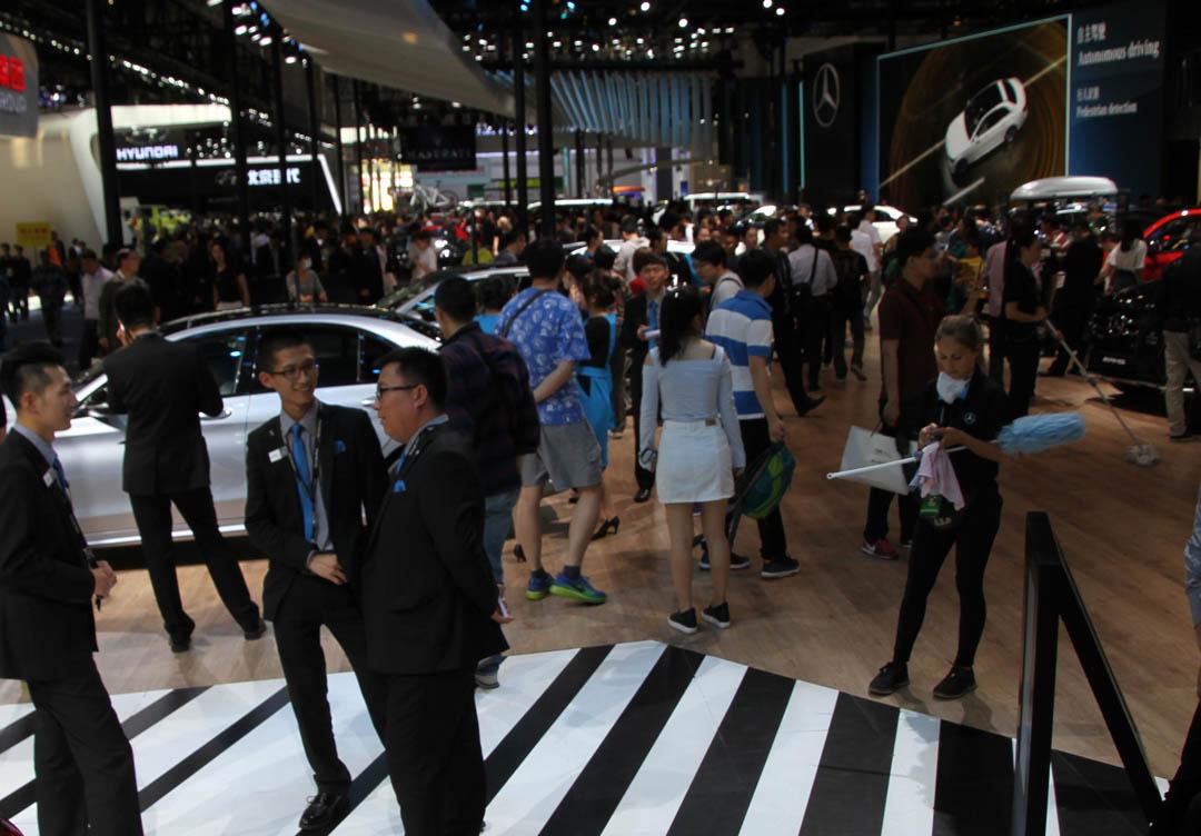 En Beijing preparan su Auto Show