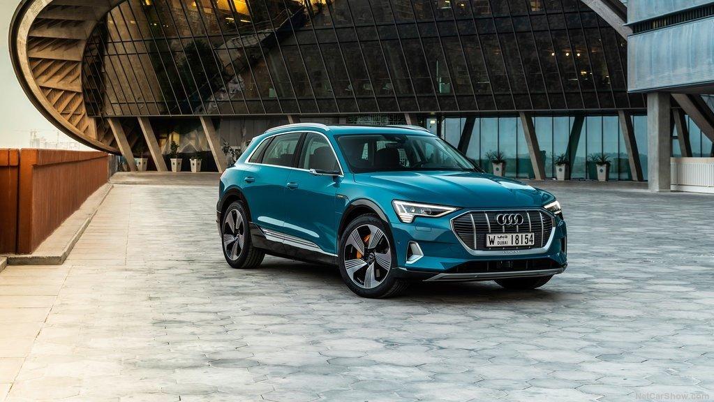 La SUV es el primer modelo de la gama eléctrica de Audi
