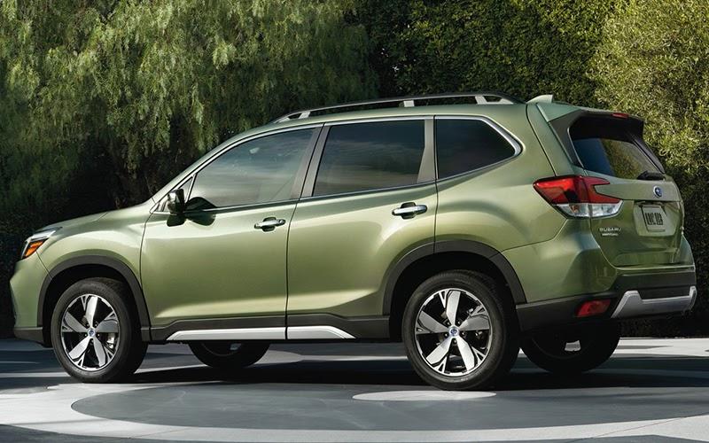 Subaru Forester verde